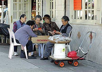 Chinoises retraitées