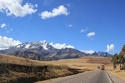Route entre Moray et Cusco