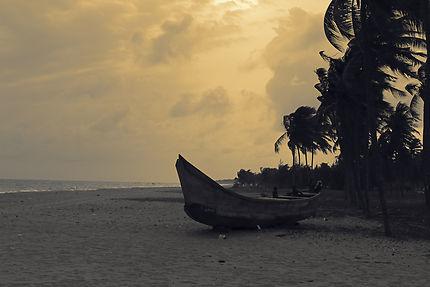 Plage à Cotonou, Bénin