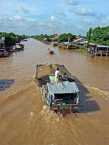 Can Tho delta du Mékong bateau