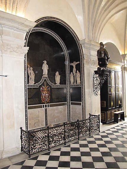 Chapelle d'argent dans l'église impériale
