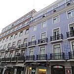 Belle façade à Lisbonne