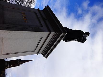Statue de Robert Burns