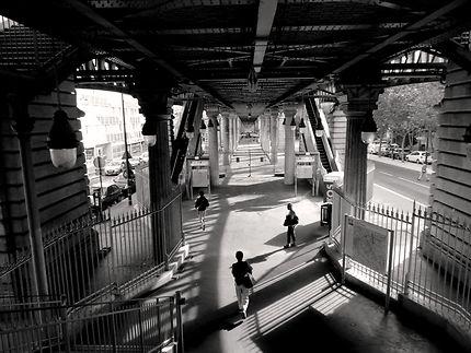 Station du métro Nationale ligne 6