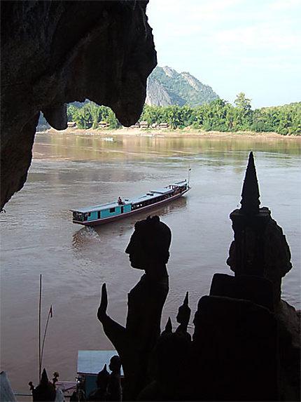 Grotte de Pak Ou, sur le Mékong