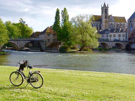 Une pause bucolique à Moret-sur-Loing