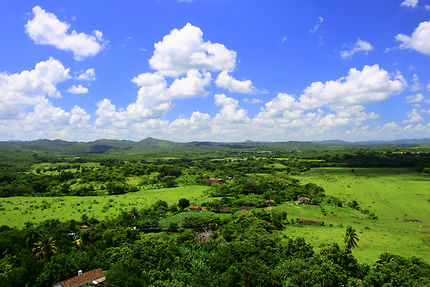 Du haut de la tour, à Manacas Iznaga