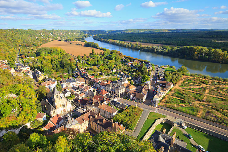 Le Vexin et la vallée de la Seine, de La Roche-Guyon à Lyons-la-Forêt