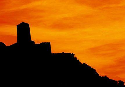 Silhouette du vieux château