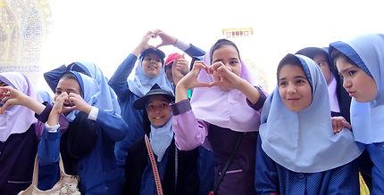 Jeunes iraniennes