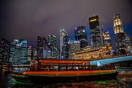 Le quartier d'affaires de Singapour