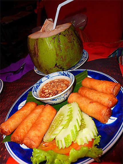 Repas cambodgien