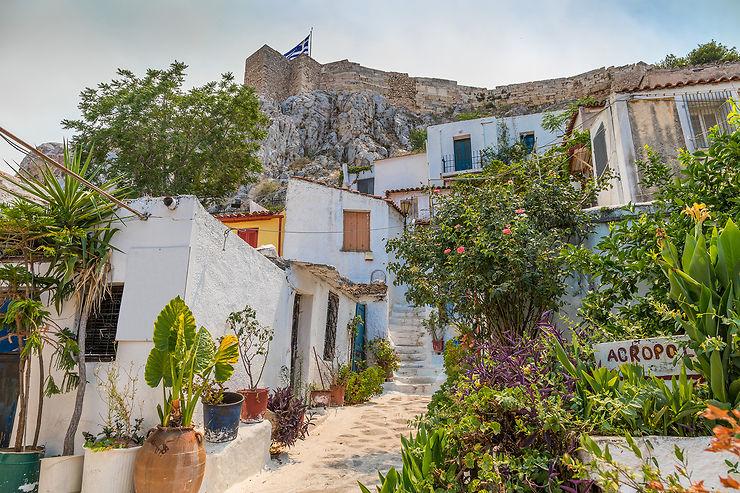 Plaka, Anafiotika et Koukaki : des villages au cœur d'Athènes