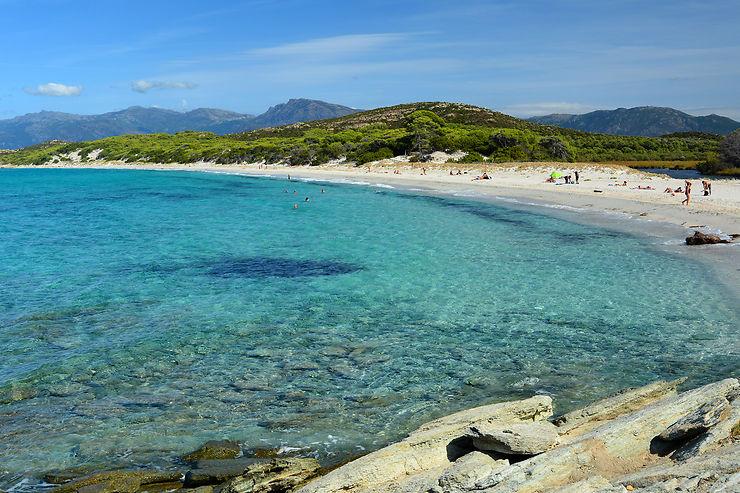 Plage de Saleccia, désert des Agriate, Corse