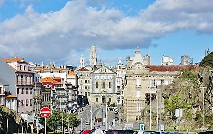 Porto vue de la cathédrale
