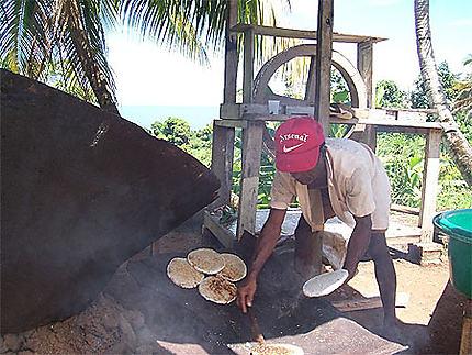 Cuisson des cassaves