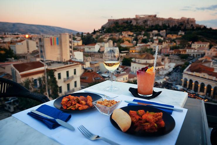 La gastronomie grecque à Athènes