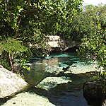Un coin de paradis : Cenote Azul
