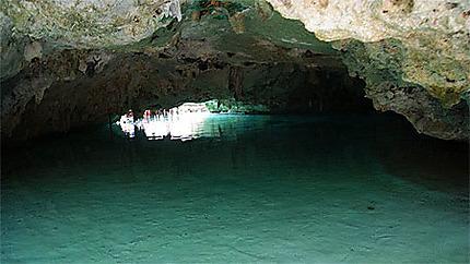 A l'intérieur de la cenote