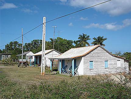 Maisons typiques cubaines