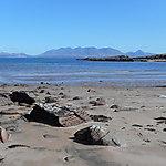 Kilmory Bay et les Black Cuillins de Skye