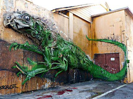 Art street à Aruba