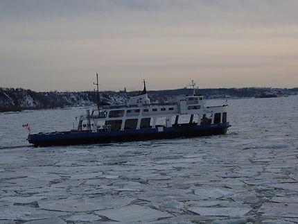 La traversée du Saint-Laurent à Québec
