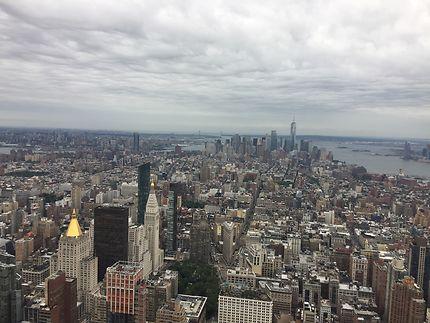 The view in Manhattan