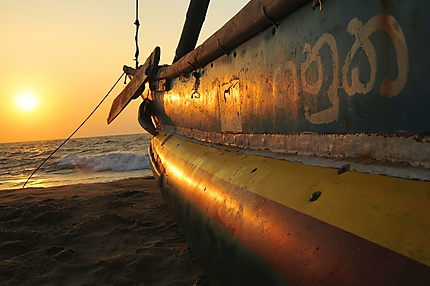 La plage de Negombo