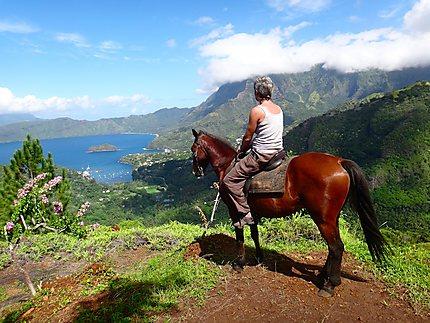 Hiva Oa. île des Marquises