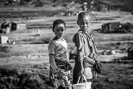 Enfants du Lesotho