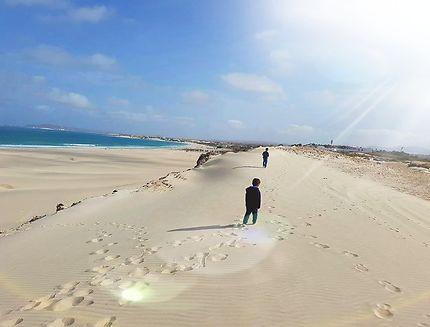 Dune de Chaves, île de Boa Vista