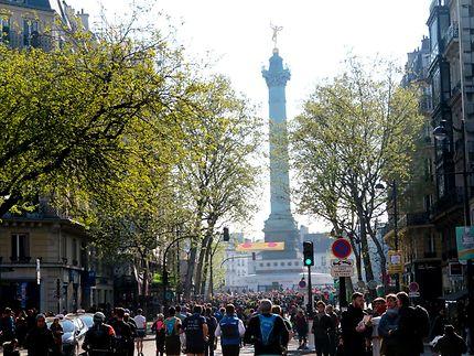 Le Marathon de Paris, 2019 Place de la Bastille