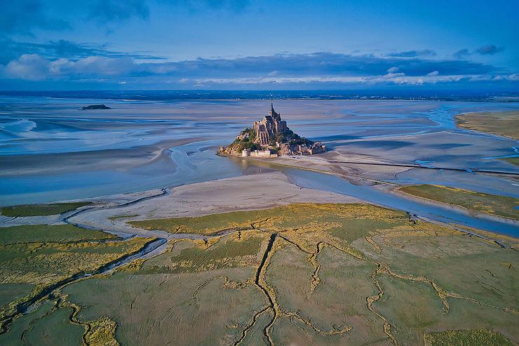 Une merveille de la nature : la baie du Mont-Saint-Michel