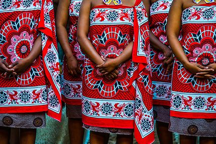 Costumes traditionnels au Swaziland