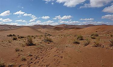 Sossusvlei (désert du Namib)