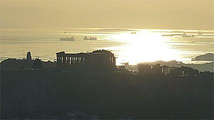Silhouette d'Acropole