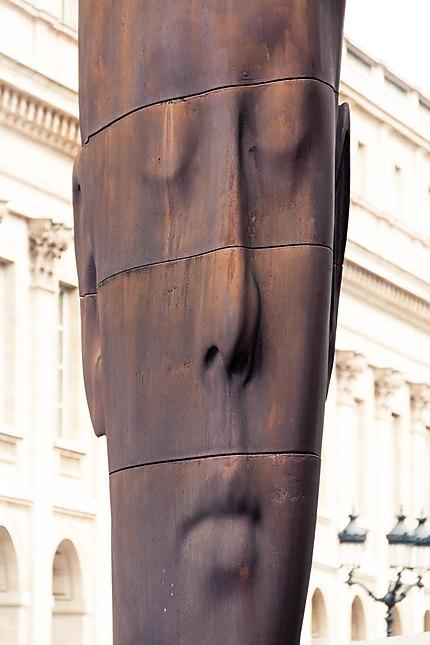 Bordeaux - Sanna, sculpture de Jaume Plensa