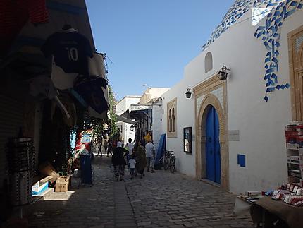 Rue boutiques Monastir