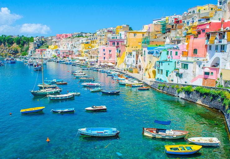 Ischia et Procida, deux perles au large de Naples