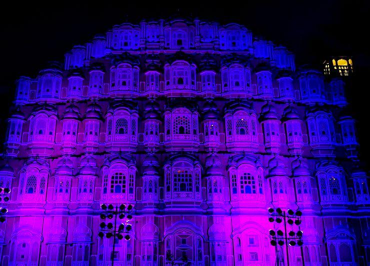 Palais des vents, Jaipur, Rajasthan