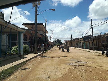 Route typique de Cuba