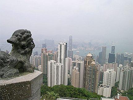 HK vue du Peak