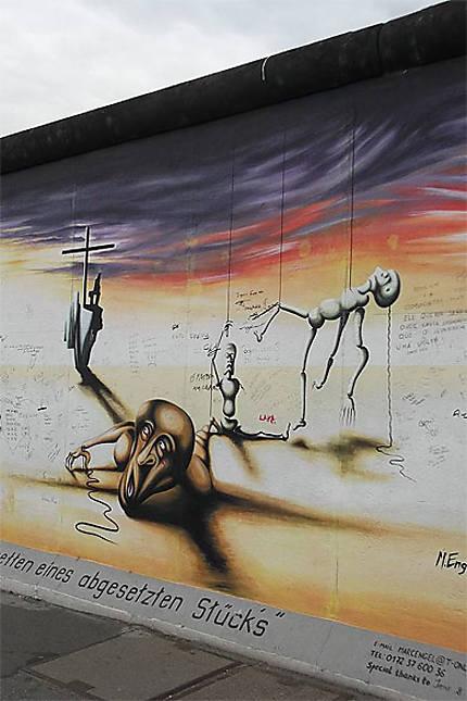 Fragment du Mur de Berlin