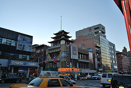 Chinatown début de soirée