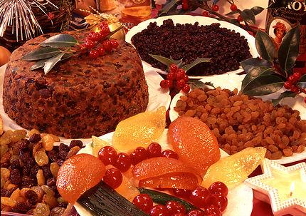 Christmas pudding, Angleterre