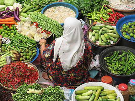 Marché de Kota Bharu