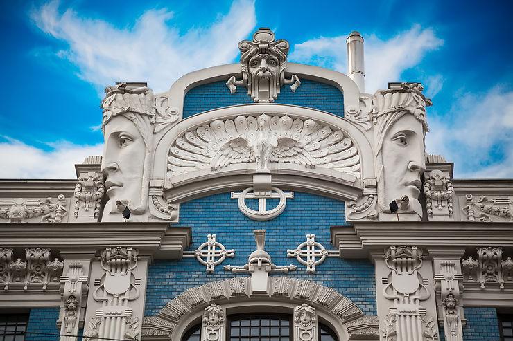 Riga, capitale de l'Art nouveau