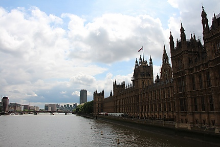 Houses of Parliament and the Thames