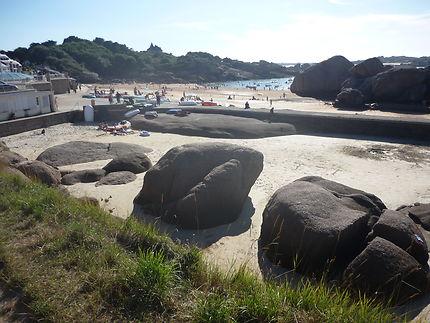 La petite plage du Coz Pors
